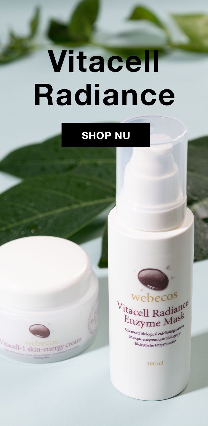 Webecos vitacell radiance collectie